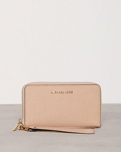 Naturfärgad plånbok från MICHAEL Michael Kors till dam.