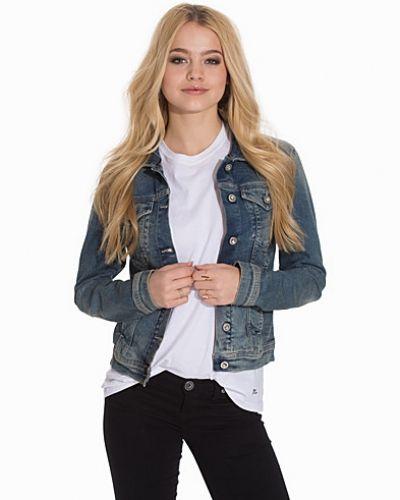 Blå jeansjacka från Calvin Klein Jeans till dam.