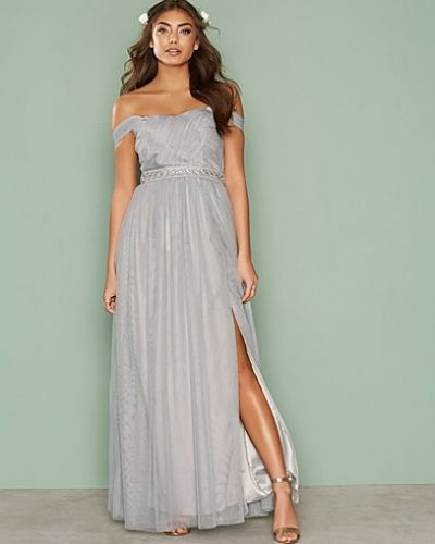 Jewel Waist Maxi Dress Little Mistress maxiklänning till dam.