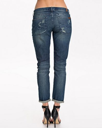 7 for all mankind straight leg jeans till dam.