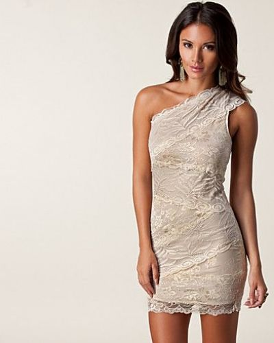 Ax Paris Juni Lace Overlay Dress