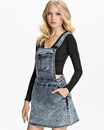 Justine Denim Dress Noisy May jeansklänning till tjejer.