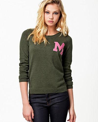 Till dam från Morris, en grön stickade tröja.