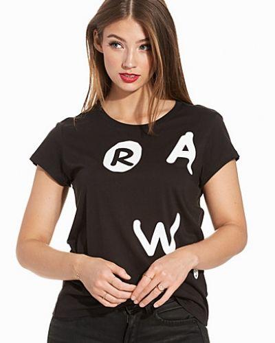 Svart t-shirts från G-Star till dam.