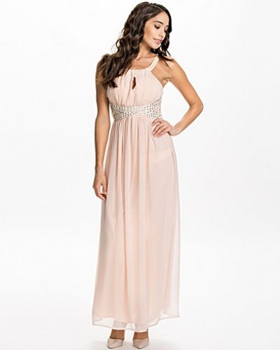 Ax Paris Key Hole Front Maxi Dress