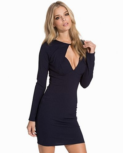 NLY One Keyhole Front Rib Dress