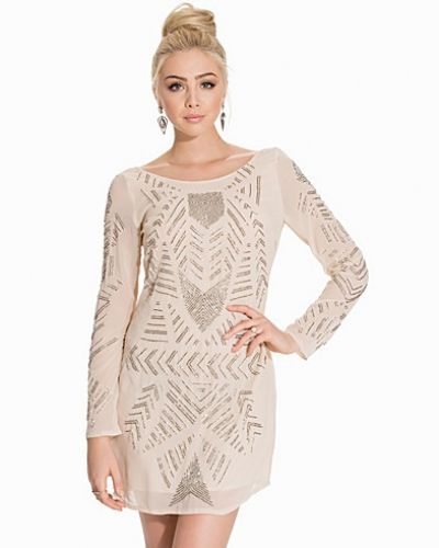 Glamorous L/S Aztec Patterned Bodycon Dress