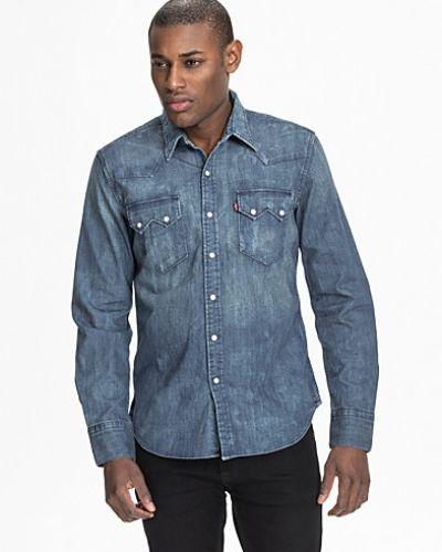 801384959d10 Levis jeansskjorta till herr.