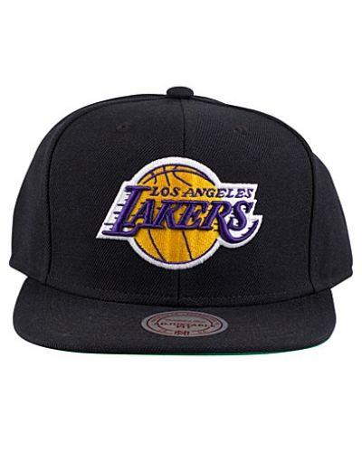 LA Lakers Wool Solid Snapback Mitchell & Ness huvudbonad till herr.