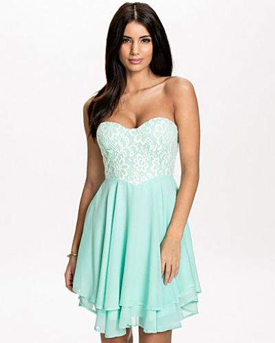 Te Amo Lace Bandeau Dress