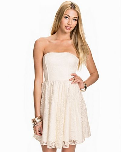 John Zack Lace Bandeau Dress