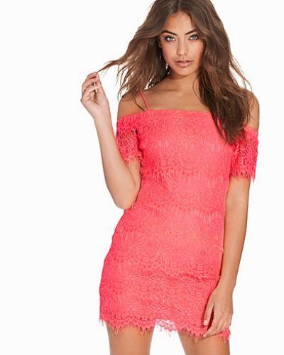 Klänning Lace Bardot Tunic Dress från Topshop