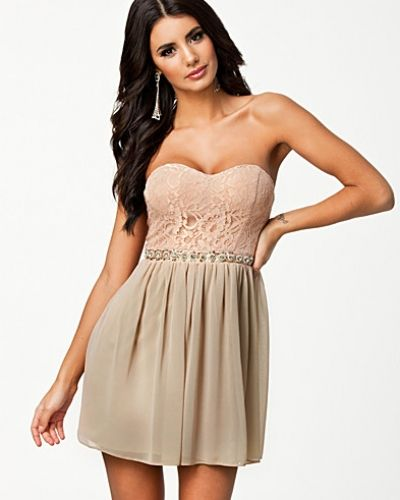 Elise Ryan Lace Bustier Dress
