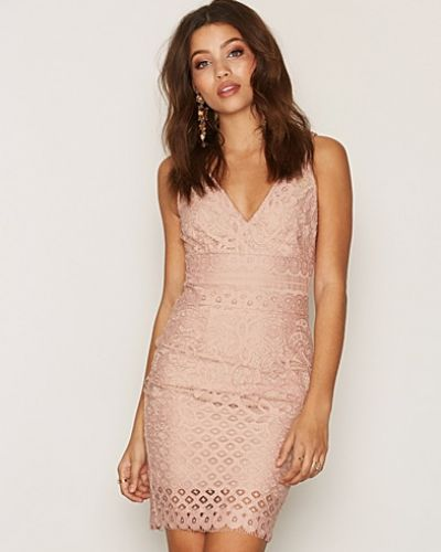 New Look Lace Contrast Dress