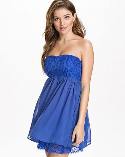 NLY Blush Lace Hem Babydoll Dress
