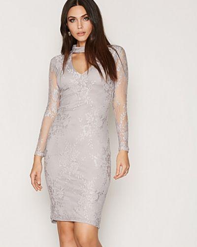 Ax Paris Lace L/S Bodycon Dress