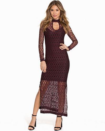 Lace Maxi Dress Miss Selfridge långärmad klänning till dam.