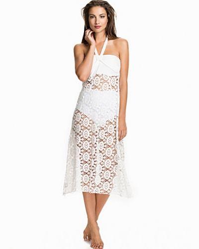 Hot Anatomy Lace Maxi Skirt
