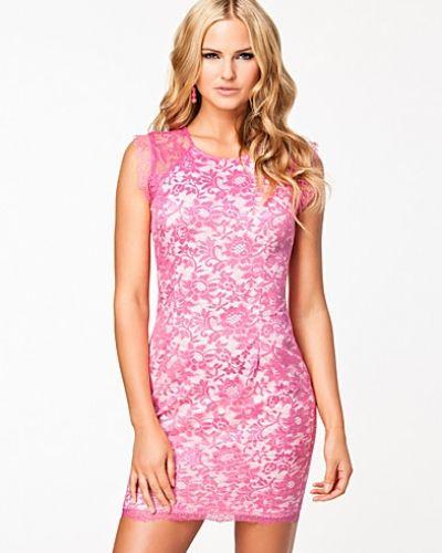 Ax Paris Lace Overlay Dress