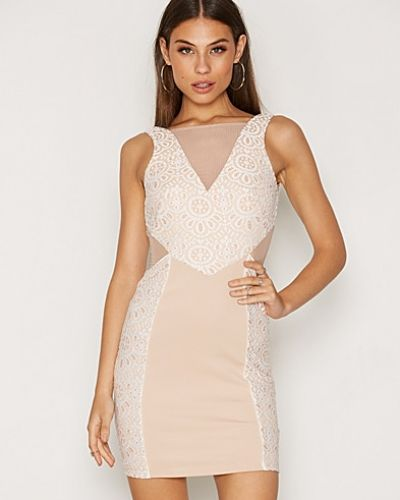 Miss Selfridge Lace Placement Bodycon Dress