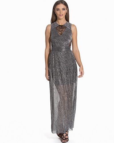 Miss Selfridge Lace Plisse Maxi Dress