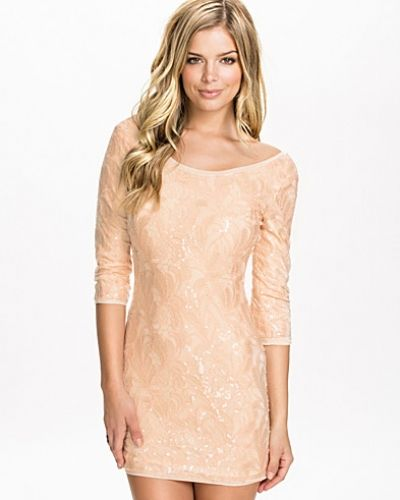 Glamorous Lace Sequin Dress
