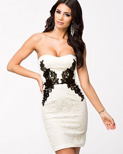 Elise Ryan Lace Side Bodycon Dress