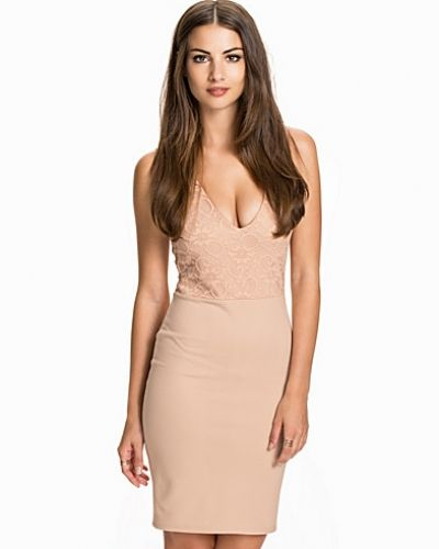 Lace Top Bodycon NLY One fodralklänning till dam.