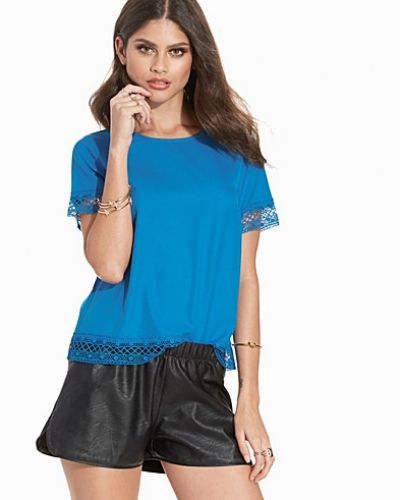 New Look Lace Trim T-Shirt