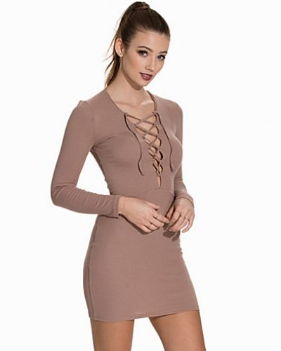 NLY Trend Lace Up Dress