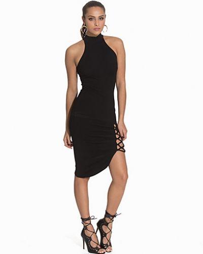 Fodralklänning Lace Up Thigh Dress från NLY One