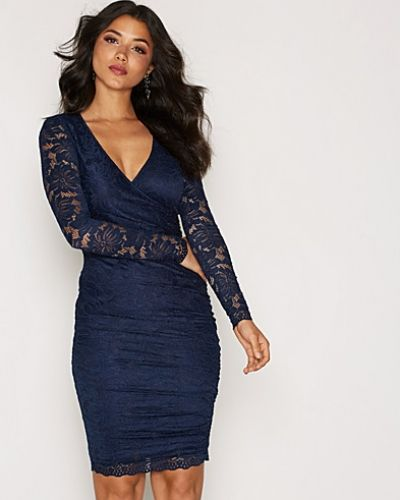 Ax Paris Lace Wrap Bodycon Dress