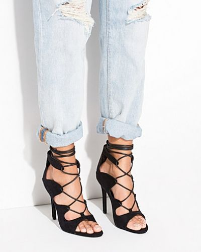 Nly Shoes Laced Up Heel Sandal