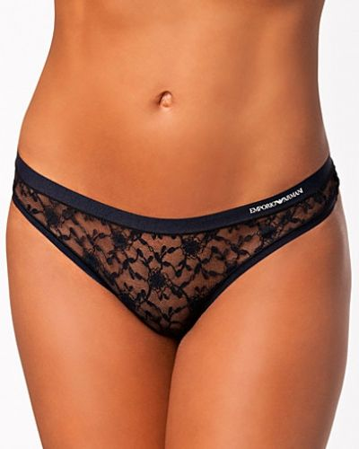 Armani Ladies Knitted Thong