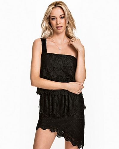 Layered Lace Dress NLY ICONS one shoulder dress till dam.