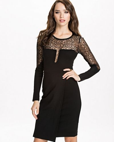 French Connection Layla Lace L/S Roundneck Dress