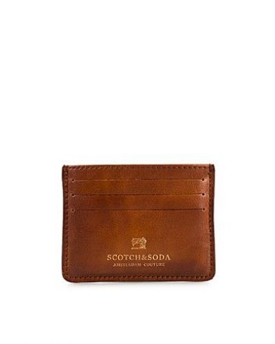 Scotch & Soda Leather Creditcard. Planbocker håller hög kvalitet.
