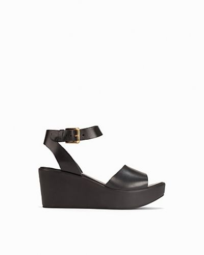 Miss Selfridge Leather Flatform Sandal