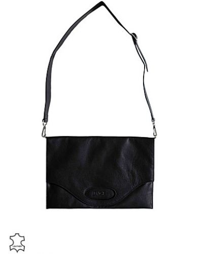 Back Leather Logo Shopper