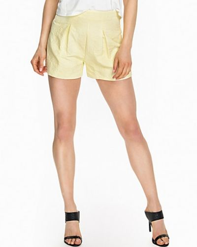 Lemon Jacquard Shorts Miss Selfridge shorts till dam.