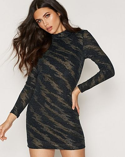 Topshop Lightning Glitter Mini Dress