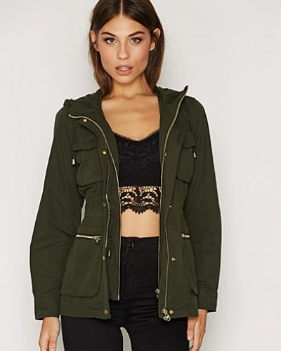 Topshop Lightweight Hooded Jacket