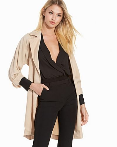 Topshop Lightweight Textured Truster Coat