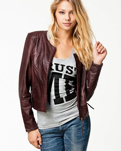 Selected Femme Lills Leather Jacket