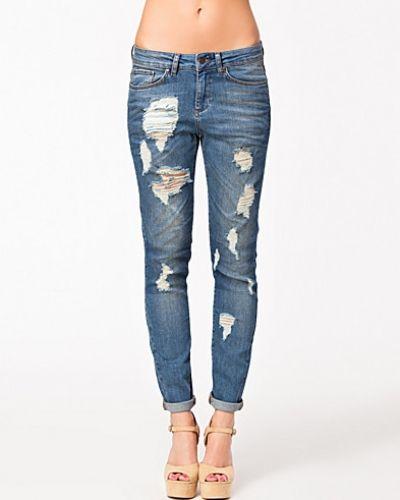 Boyfriend jeans Lina Break Jeans från Object