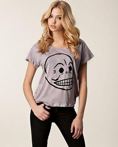 Grå t-shirts från Cheap Monday till dam.