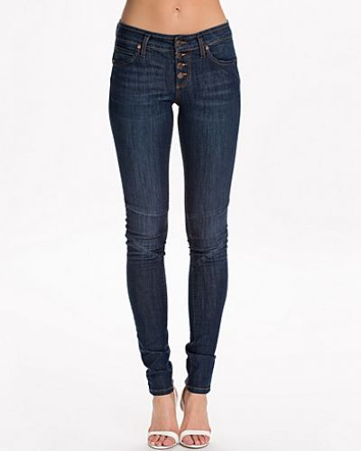 Liva R.D Superslim Jeans Object slim fit jeans till dam.