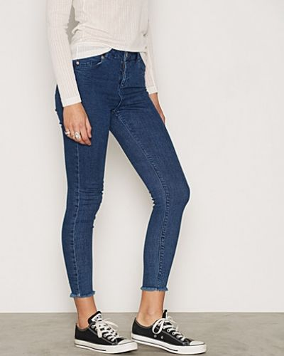 Lizzie Mid Wash Ankle Grazer Miss Selfridge slim fit jeans till dam.