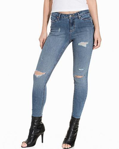 Miss Selfridge Lizzie Vintage Distressed Jeans