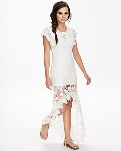 NLY ICONS Long Back Lace Dress